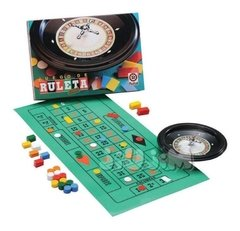 Ruleta Club  22cm Diametro + Tapete Y Fichas Ruibal