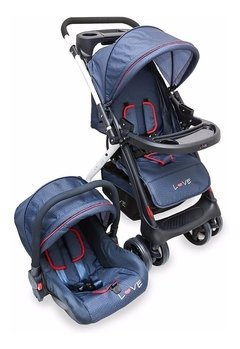 Coche Travel System Huevito Love 2224 Rebatible