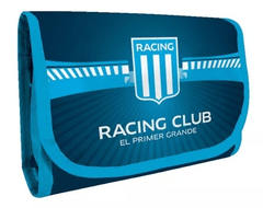 Cartuchera Escolar Desplegable Oficial Racing Club