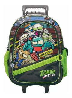 Mochila Con Carro 17' Original Zombie Infection 2020