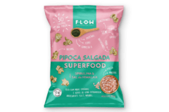 Pipoca Superfood  - Spirulina & Sal do Himalaia