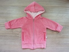 Campera de plush chicle