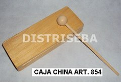 Caja China Rectangular con Golpeador