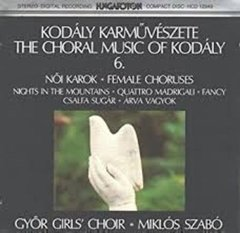 Cd - Györ Girls' Choir E Miklós Szabó - The Choral Music ...