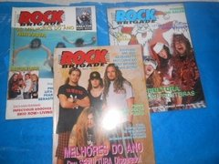 Revistas Rock Brigade Comando Metal Head Top Rock Lote C/ 15 - loja online