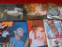 Backstreet Boys Lote Com 25 Fotos Cards Cromos na internet