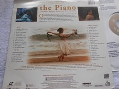 The Piano 3 Oscar Laserdisc Duplo Holly Hunter Harvey Keitel - Ventania Discos e Sebo