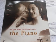 The Piano 3 Oscar Laserdisc Duplo Holly Hunter Harvey Keitel - comprar online