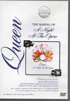 Queen The Making Of A Night At The Opera Dvd Lacrado