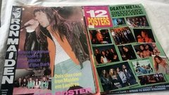 Imagem do Bon Jovi Iron Maiden The Rollins Stones Etc 10 Posters Rock
