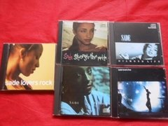 Sade Lovers Rock Live Promise Diamond Life Stronger 5 Cd'S