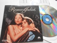 Romeo & Juliet Remastered Widescreen Laserdisc Duplo Oferta