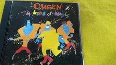 Queen A Kind Of Magic Cd Original 1986 Brasil 3 Faixas Bônus - Ventania Discos e Sebo