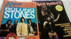Bon Jovi Iron Maiden The Rollins Stones Etc 10 Posters Rock na internet