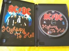 Ac/Dc Dvd Highway To Hell Dvd Original Encarte Int. Perfeito