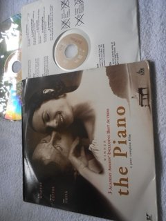 The Piano 3 Oscar Laserdisc Duplo Holly Hunter Harvey Keitel