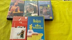 The Beatles Elis Regina Bruce Springsteen Etc 5 Vhs Original - comprar online