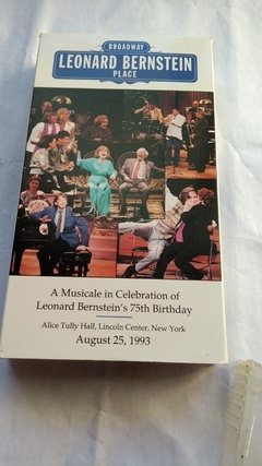 Imagem do Broadway Leonard Bernstein Place Vhs Original Oferta