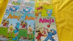 As Aventuras Do Pequeno Ninja Nº 3, 4, 5, 6  Lote C/ 6 Gibis