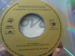 Imagem do Andrew Lloyd Webber The Premiere Collection Encore Laserdisc