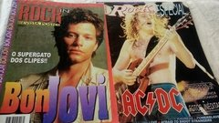 Bon Jovi Iron Maiden The Rollins Stones Etc 10 Posters Rock - loja online