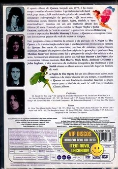 Queen The Making Of A Night At The Opera Dvd Lacrado - comprar online