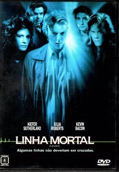 Linha Mortal Dvd Original Kiefer Sutherland Kevin Bacon