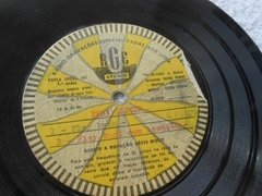 Acetato 78 Rpm Fina Singer Jingle Disco Compacto Único No Ml - comprar online