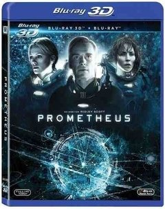 Prometheus Bluray 3D + Bluray 2D Original Ridley Scott