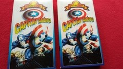 Capitão América Cartoon Collection Lote 2 Fitas Vhs Revenda - Ventania Discos e Sebo