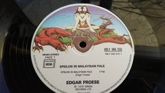 Edgar Froese Epsilon In Malaysian Pale Lp Rock Importado - loja online
