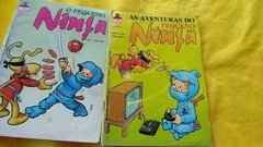 As Aventuras Do Pequeno Ninja Nº 3, 4, 5, 6  Lote C/ 6 Gibis na internet
