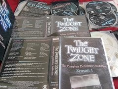 The Twilight Zone Complete Definitive Collection 28 Dvd Set - Ventania Discos