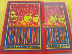 Cream London May Royal Albert Hall Dvd Orig Duplo Encarte - loja online