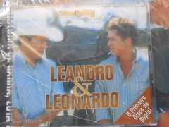 Leandro E Leonardo Shopping Music Especial Revista E Cd Novo na internet