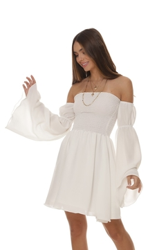Vestido Maya - Off White na internet