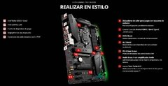 Motherboard Msi H370 Gaming Pro Carbon 1151 8va Gen en internet