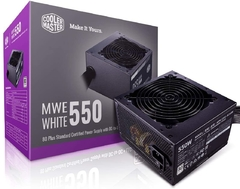 Fuente CoolerMaster MWE White V2 Full Range 650W 80 Plus