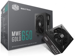 Fuente Cooler Master MWE Gold 650W 80 Plus