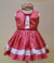 "Dot Dress red ""Celebrate"""