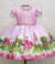 Pink Farm Party Dress