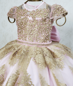Pink and Gold Royalty Dress - buy online