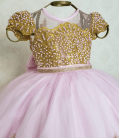 Pink and Gold Minnie Dress - buy online