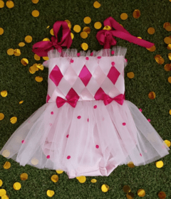Little Colombina Romper