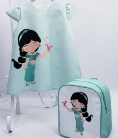 Dress with backpack Jasmine