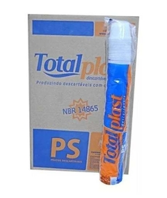 Pote Redondo 100 ML 2.000UN Totalplast