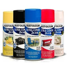 Pintura Aerosol Ultra Cover Colores 340 Ml Rust Oleum