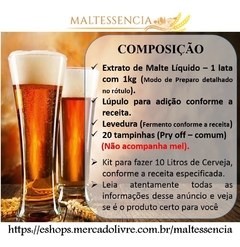 Imagem do Cerveja Artesanal ( Honey Brown C/mel ) Kit Extrato 1kg