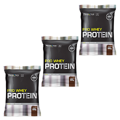 COMBO 3x PRO WHEY PROTEIN 500G - comprar online