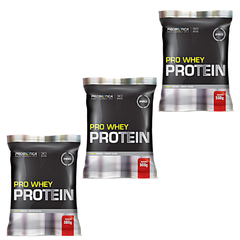COMBO 3x PRO WHEY PROTEIN 500G - BNGM SUPLEMENTOS